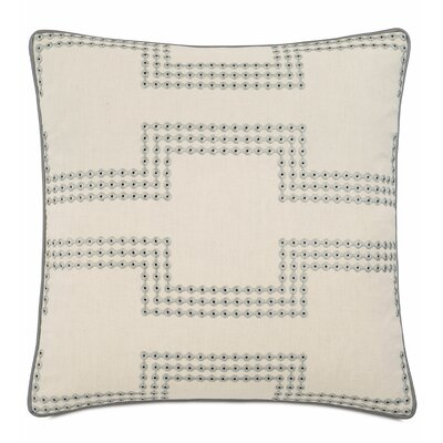 Hendrix Stone Cotton Throw Pillow