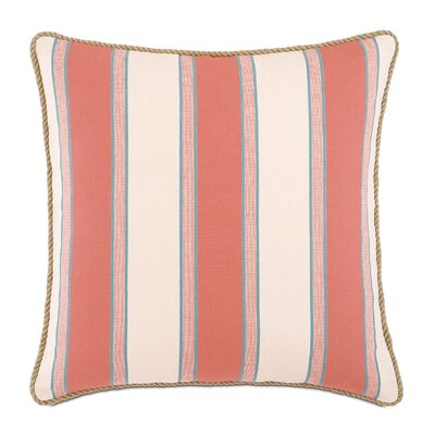 Sumba Tosi Blush Cotton Throw Pillow