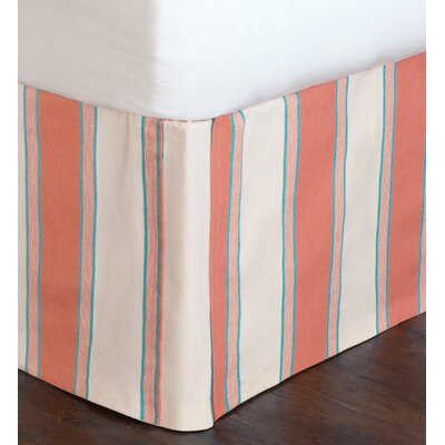 Sumba Tosi Blush Bed Skirt Size: Queen