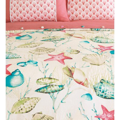 Sumba Seaside Duvet Cover Size: Super Queen