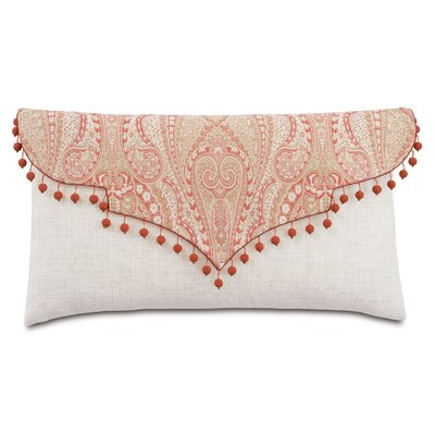 Rena Carnation Envelope Lumbar Polyester Pillow