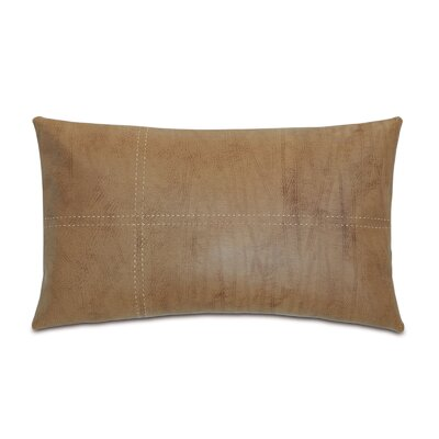 Chalet Dorian Pillow with Tailors Tack Color: Saddle