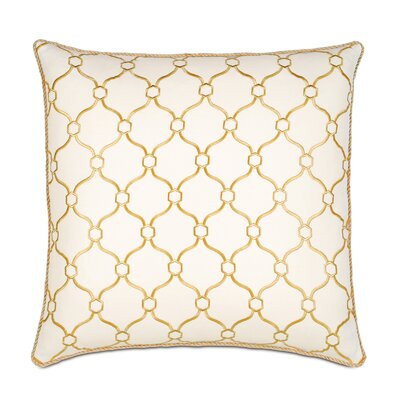 Emory Theodore Honey Throw Pillow