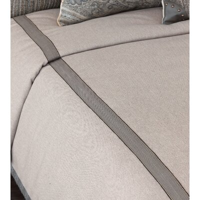 Reign Wicklow Heather Comforter Finish Type: Hand-Tacked, Size: Twin