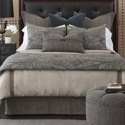 Reign Wicklow Heather Duvet Cover Size: King