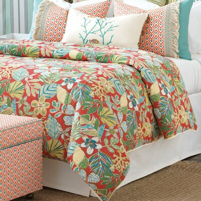 Suwanee Duvet Cover Size: King