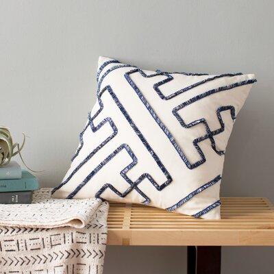 Indira Dean Parchment Throw Pillow