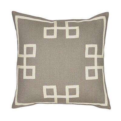 Resort Fret Throw Pillow