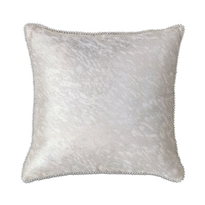 Vionnet Platinum Throw Pillow