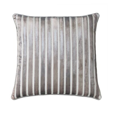 Vionnet Gaia Sterling Throw Pillow