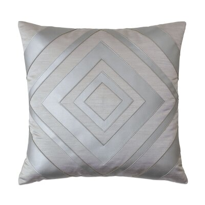 Vionnet Klein Sterling Throw Pillow