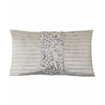 Vionnet Crystal Platinum Lumbar Pillow
