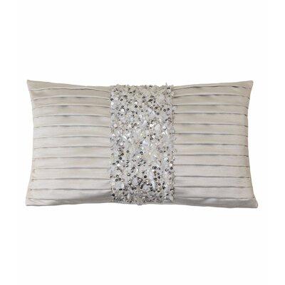 Vionnet Crystal Platinum Lumbar Pillow