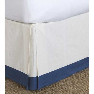 Maritime Filly Bed Skirt Size: California King