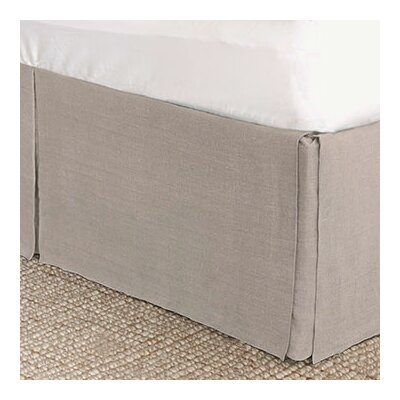 Resort Linen Program Stone Bed Skirt Size: California King