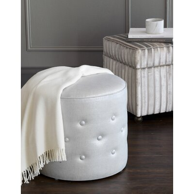 Vionnet Reflection Frost Tufted Ottoman