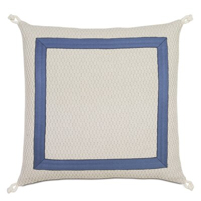 Maritime Custer Mitered Outdoor Throw Pillow