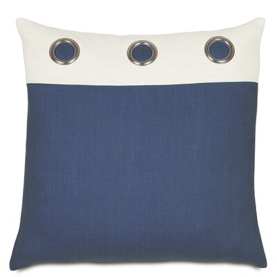 Maritime Filly Insert Grommets Outdoor Throw Pillow