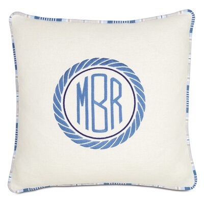 Maritime Nautical Outdoor Throw Pillow
