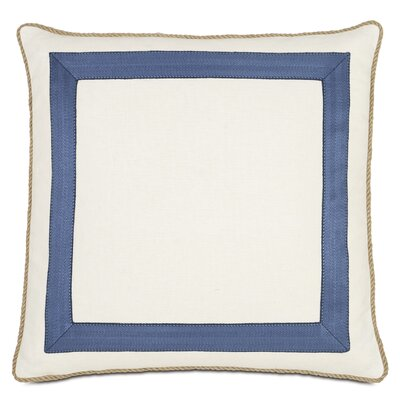 Maritime Filly Mitered Throw Pillow