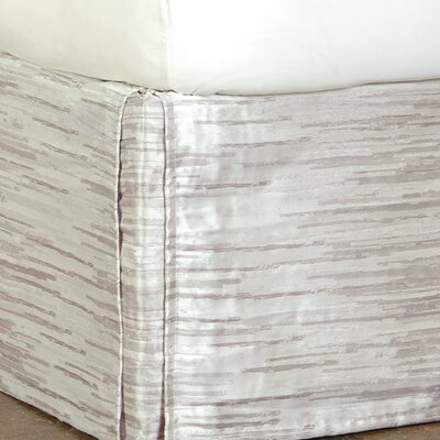 Pierce Horta Bed Skirt Size: King, Color: Putty