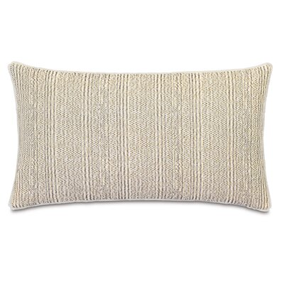 Truman Sashiko Mud Lumbar Pillow