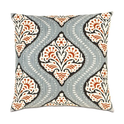 Bowie Ogee Cotton Throw Pillow