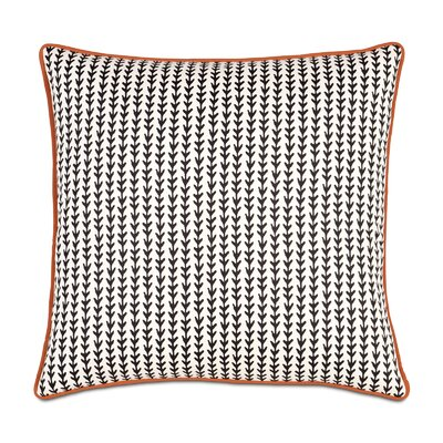 Bowie Ziggy Vine Cotton Throw Pillow
