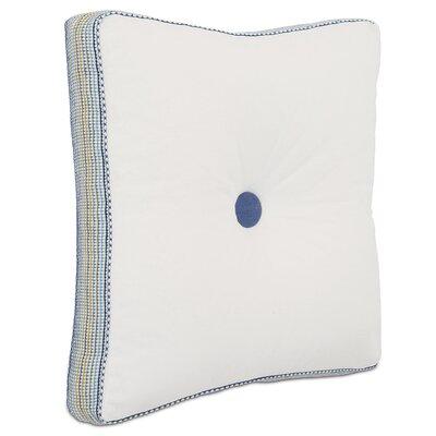 Aoki Baldwin Boxed and Tufted Cotton Throw Pillow