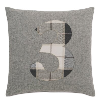 Digits 3 Throw Pillow