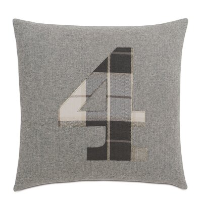 Digits 4 Throw Pillow