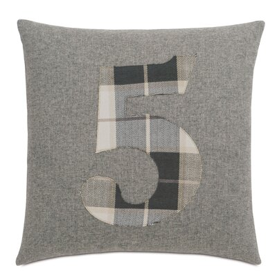 Digits 5 Throw Pillow
