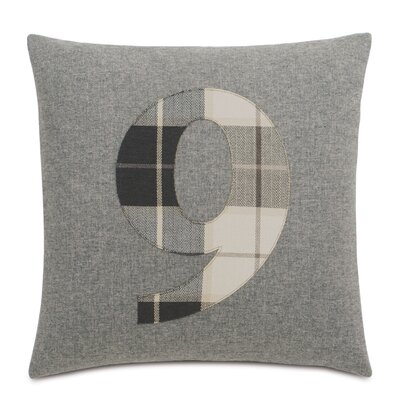 Digits 9 Throw Pillow