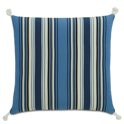 Sail Away Mast Stripes Throw Pillow