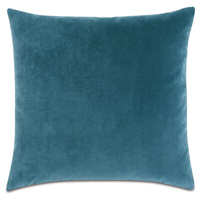 Plush Throw Pillow Color: Teal