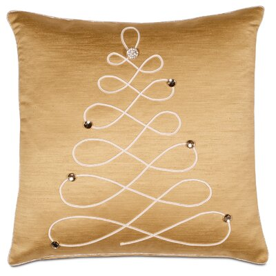 Glitz Christmas Tree Throw Pillow