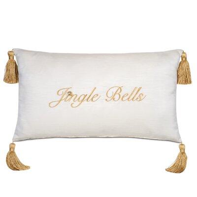 Jingle Bells Holiday Throw Pillow
