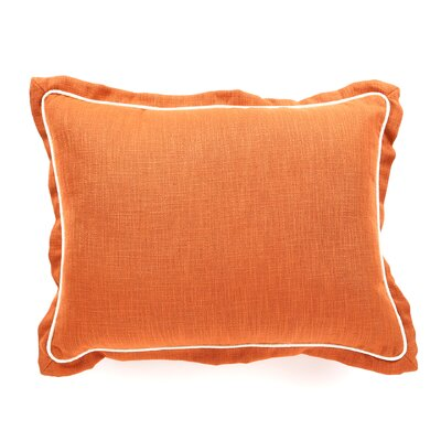 Bayliss Bed Lumbar Pillow Size: King, Color: Brick