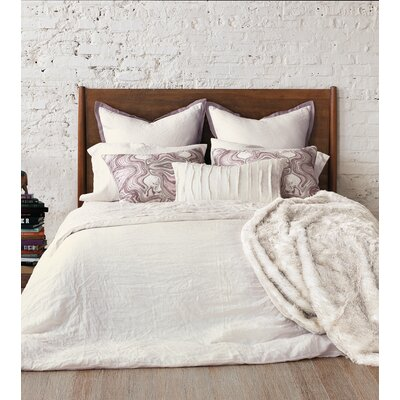 Stone Washed Pillow Case Size: King