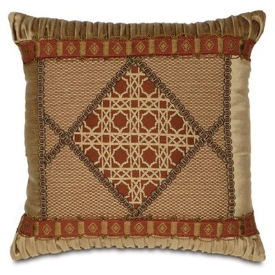 Toulon Ravello Spice Diamond Collage Throw Pillow