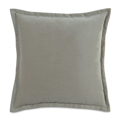 Jackson Solid Velvet Throw Pillow Size: 20 x 20, Color: Heather