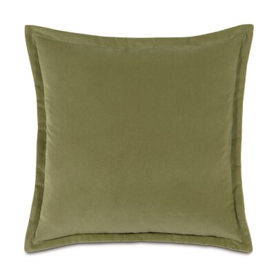Jackson Solid Velvet Throw Pillow Size: 15 x 26, Color: Sage