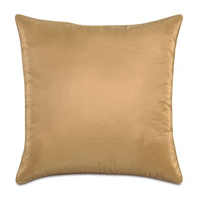 Freda Throw Pillow Size: 20 x 20, Color: Gold