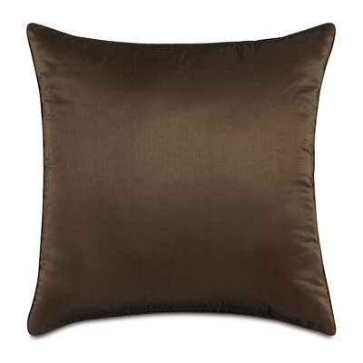 Freda Throw Pillow Size: 20 x 20, Color: Chocolate