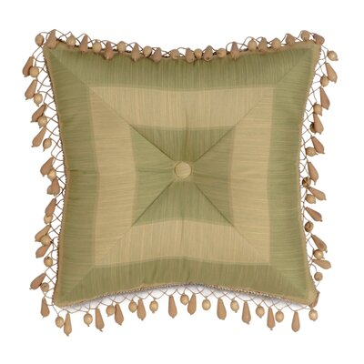 Antigua Leeward Aloe Tufted Throw Pillow