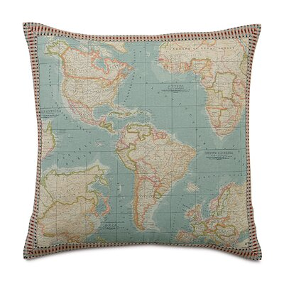 Kai Monde Border Euro Pillow