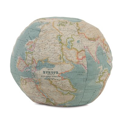 Kai Monde Globe Throw Pillow