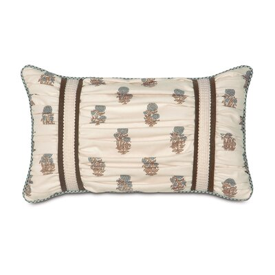 Kira Latika Cornflower Ruched Lumbar Pillow