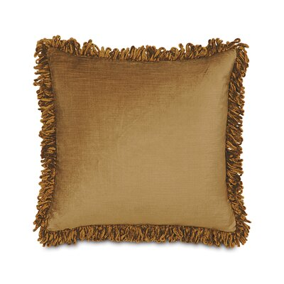 Lucerne Cotton Throw Pillow Color: Gold