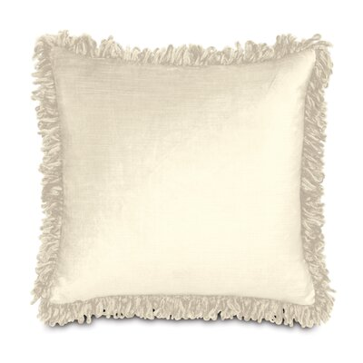 Lucerne Throw Pillow Color: Ivory